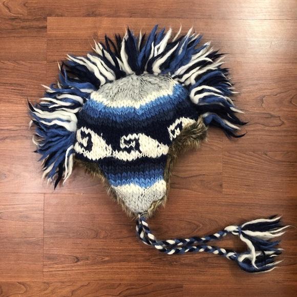 199693569 American Eagle Mohawk Hat